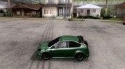 Ford Focus RS для GTA San Andreas миниатюра 2