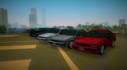 1986 Nissan 200SX for GTA Vice City miniature 1