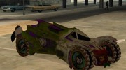 Jokermobile from DC Comics для GTA San Andreas миниатюра 1