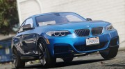 BMW M235i Coupe for GTA 5 miniature 3