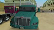 Peterbilt 579 for GTA Vice City miniature 7