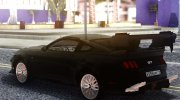 Ford Mustang 2015 Sport for GTA San Andreas miniature 5