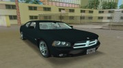Dodge Charger R/T FBI for GTA Vice City miniature 8