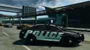 Ford Taurus Police Interceptor 2011 для GTA 4 миниатюра 5