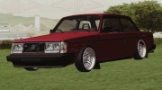 Volvo 242 for GTA San Andreas miniature 6