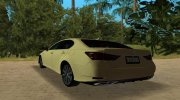 2013 Lexus GS 350 F Sport for GTA Vice City miniature 6