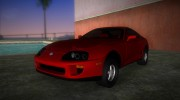 Toyota Supra US-Spec (JZA80) 1993 for GTA Vice City miniature 1