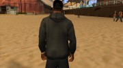 Кепка boss black for GTA San Andreas miniature 3
