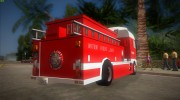 DAF XF 530 Fire Truck for GTA Vice City miniature 2