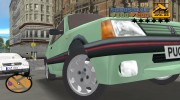 Peugeot 205 GTI for GTA 3 miniature 4