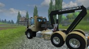 Mercedes-Benz Unimog crane devices Trailer for Farming Simulator 2013 miniature 4