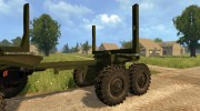 Урал 4320 Лесовоз for Farming Simulator 2015 miniature 8