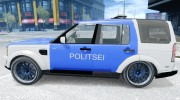Estonian Police Discovery 4 Land Rover for GTA 4 miniature 2