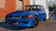 Mitsubishi Lancer EVO 8 MR Tunable for GTA 5 miniature 2