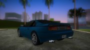 Nissan 300ZX for GTA Vice City miniature 4