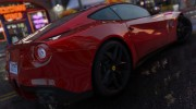 Ferrari F12 Berlinetta 2013 for GTA 5 miniature 4