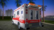 Ford Econoline 1986 Ambulance for GTA Vice City miniature 4