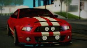 Ford Mustang Shelby GT500 2013 v1.0 for GTA San Andreas miniature 18