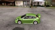 Ford Focus RS WRC 08 для GTA San Andreas миниатюра 2