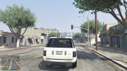 Range Rover Supercharged 2012 для GTA 5 миниатюра 4