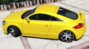 Audi TT RS 2013 v1 for GTA 5 miniature 7