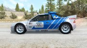 Ford RS200 Evolution Group B Rally 1986 for BeamNG.Drive miniature 2