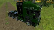 Scania R560 Templer Edition Green Turm for Farming Simulator 2013 miniature 3