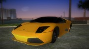 Lamborghini Murcielago LP640 Roadster for GTA Vice City miniature 1