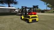 GTA V HVY Forklift (IVF) for GTA San Andreas miniature 2