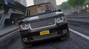 Range Rover Supercharged 2012 для GTA 5 миниатюра 10