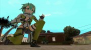 GGO Sinon for GTA San Andreas miniature 1