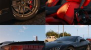 2010 Lexus LFA v1.3 for GTA 5 miniature 5