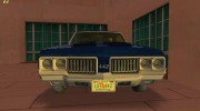 Oldsmobile 442 1970 for GTA Vice City miniature 4