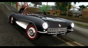 Corvette C1 1962 for GTA San Andreas miniature 1