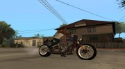 Harley Davidson fatboy Racing Bobber for GTA San Andreas miniature 3