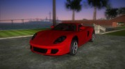 Porsche Carrera GT for GTA Vice City miniature 1