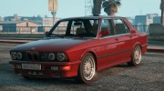 BMW M5 E28 1988 for GTA 5 miniature 1