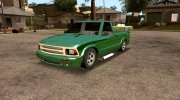 94 Chevy S-10 (SA Style) for GTA San Andreas miniature 3