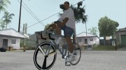 Leader Kagero Fixed Gear Bike для GTA San Andreas миниатюра 1