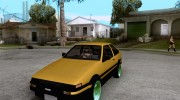 Toyota Corolla Carib AE86 for GTA San Andreas miniature 1