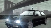 Volkswagen Golf VR6 1998 DTD TUNED for GTA 4 miniature 1