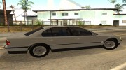 BMW 7-Series 750iL e38 1995 1.1 for GTA San Andreas miniature 4