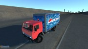 КамАЗ-5325 Pepsi for BeamNG.Drive miniature 1