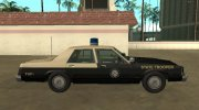 Ford LTD Crown Victoria 1987 Florida Highway Patrol for GTA San Andreas miniature 6