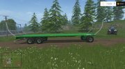 Joskin Wago Trailed 10m Autoloader v 1.0 for Farming Simulator 2015 miniature 2