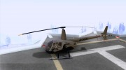 Robinson R44 Raven II NC 1.0 Скин 4 for GTA San Andreas miniature 2