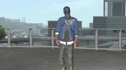 Marcus Holloway - Watch Dogs 2 for GTA San Andreas miniature 4