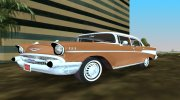 Chevrolet Bel Air 1957 Sedan for GTA Vice City miniature 1