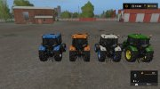 ZETOR PROXIMA 120 MULTICOLOR v1.0.0.0 for Farming Simulator 2017 miniature 4