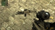 Fn Scar Acog M203 for AUG for Counter-Strike Source miniature 4